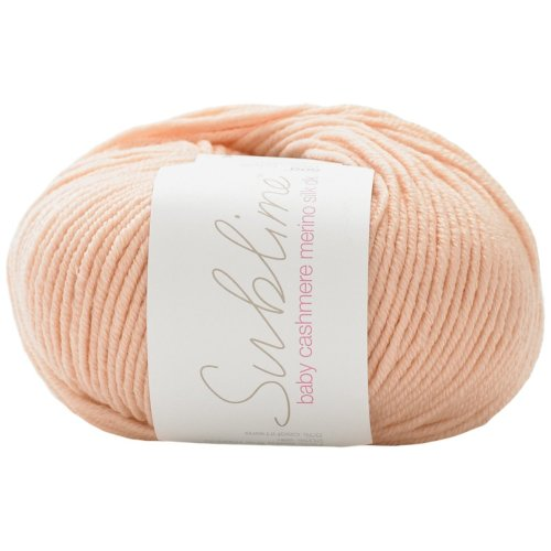 Sublime Baby Cashmere Merino Silk DKDouble Knitting - 50g Buttercream (437) by Sirdar