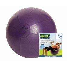 65cm Purple Swiss Ball & Pump - Studio Pro 500kg Fitness Mad Fitnessmad -  ball swiss studio pro pump 500kg fitness mad fitnessmad 65cm