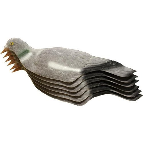East Anglian - Flocked Decoy Pigeon Shells - Pack of 12