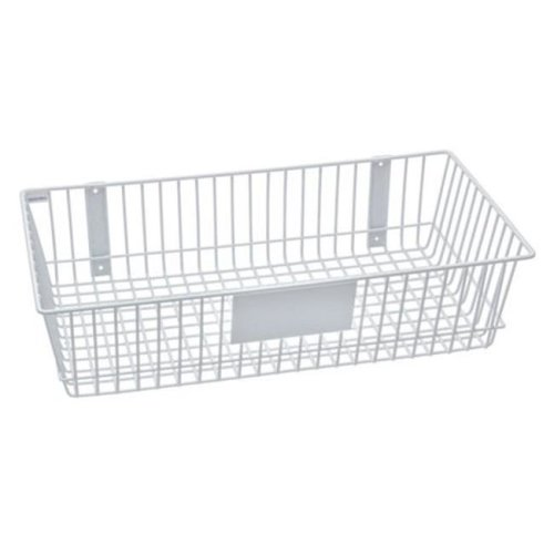 RACKEM RACKS 9186-W 24 x 12 x 6 in. Wire Basket - White