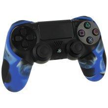 ZedLabz Camo Blue SG-1 Silicone Sony PS4 Controller Cover | Camo Blue PS4 Controller Grip