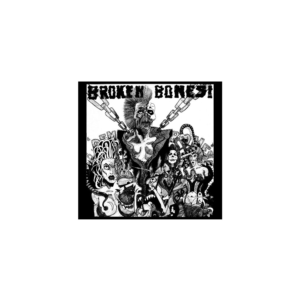 BROKEN BONES  DEM BONES PUNK VINYL LP on OnBuy