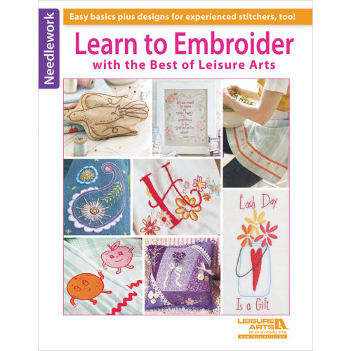 Leisure Arts-Learn To Embroider