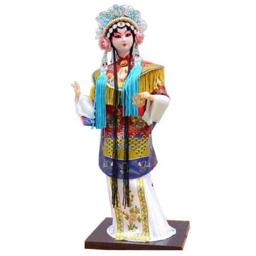 Traditional Chinese Doll Peking Opera Performer - Yang Gui Fei 02