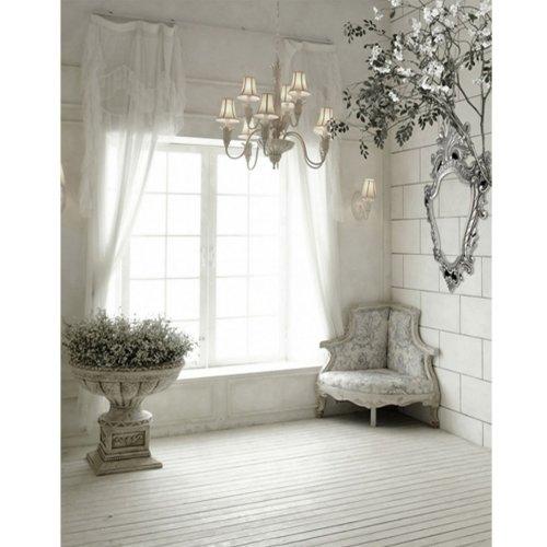 5x7FT Indoor Window Sofa Photography Background Backdrop Studio Prop
