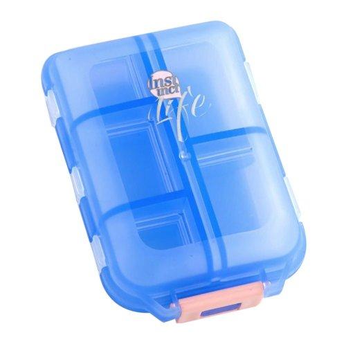 Travel Pills Organizer Box Carrying Case