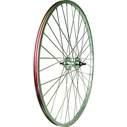 Action Wheel Alloy 27X1 14 Rear Track With Lock Nut