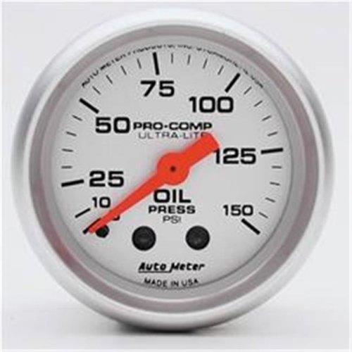 AUTO METER 4323 Ultralite Oil Pressure 0-150 Psi