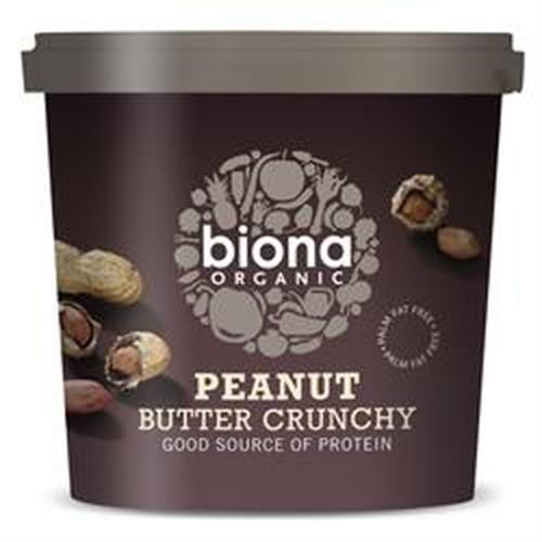 Biona Organic Peanut Butter Crunchy 1kg