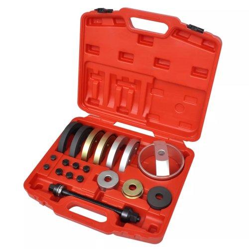 19 pcs Tool Set Kit for Compact Wheel Hub Bearing Unit 62 mm, 66 mm, 72 mm