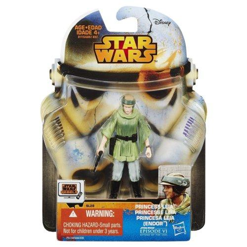 Star Wars New Hasbro Saga Legends Collection Princess Leia (Endor) Action Figure