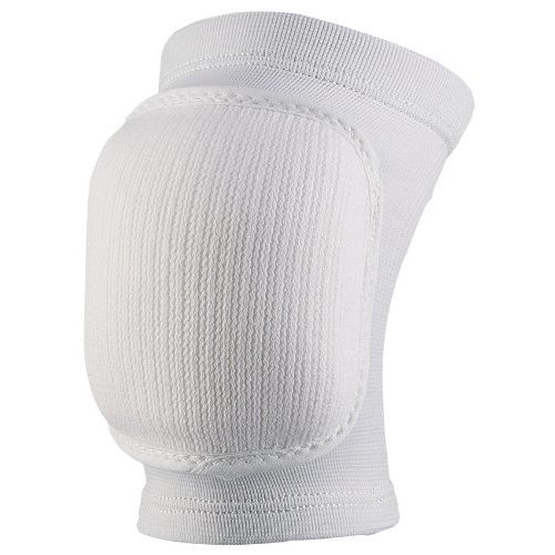 Markwort Volleyball Bubble Knee Pads, White, Youth Size