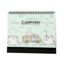2018 Lovely Office Calendars Desk Calendar for Make Plan Helper,Pig Style