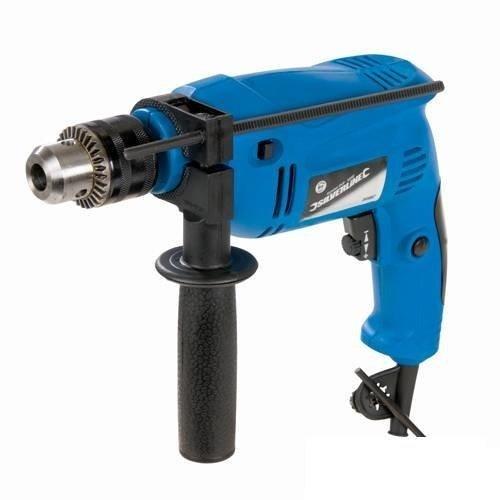500w Silverline Hammer Drill - 265897 Diy Power -  drill hammer 500w silverline 265897 diy power