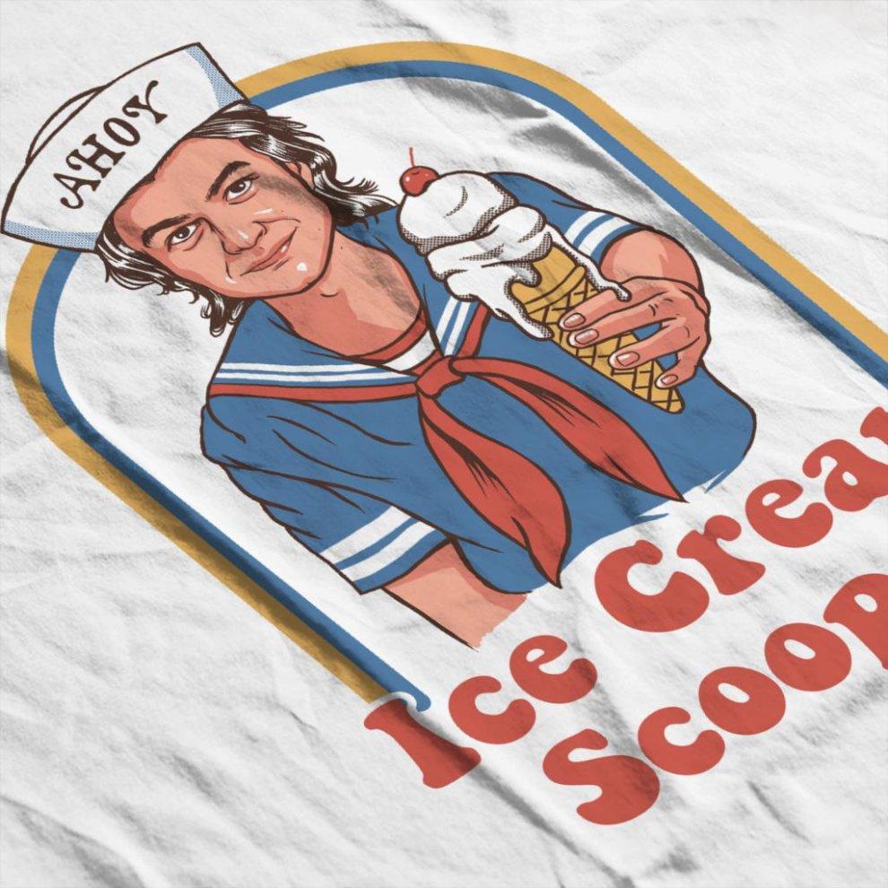 Ice Cream Scooper Steve Harrington Stranger Things Womens Vest