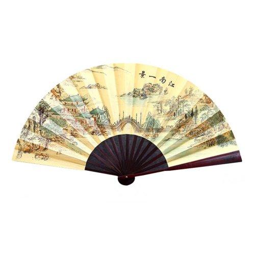Chinese Traditional Folding Fan Hand Fan Handmade Bamboo Fan,S5