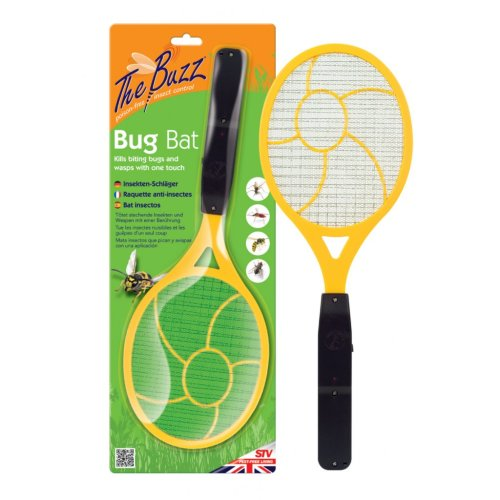 Insect Fly Wasp Swatting Bat -  bug bat buzz new