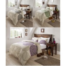 Persia Floral Modern Duvet Cover Bedding Set All Sizes