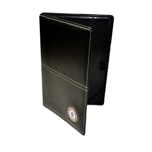 Chelsea Fc Executive Golf Scorecard Holder - Black/white - Official Product -  holder chelsea executive scorecard fc golf official product
