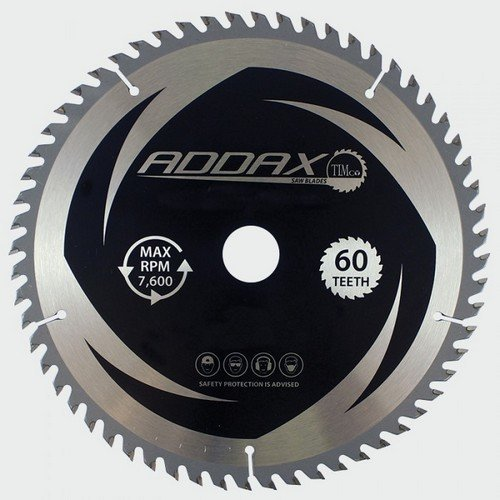 Addax C2353060 TCT Circular Saw Blade 235 x 30 x 60T