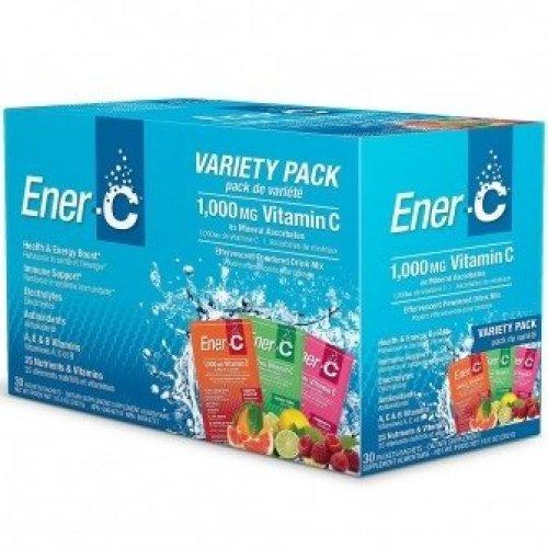 Ener-C - Variety Pack 1000mg Vitamin C 30 Sachets