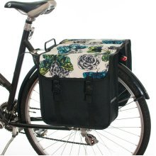 Beluko® Classic Double Panniers Bag Fashion Bicycle Cycle Bike Women's - Mens - Butterflies