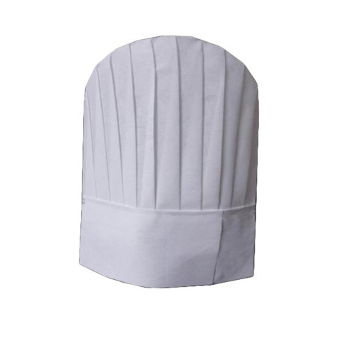 Disposable High Chef Hat Adult Adjustable Elastic Kitchen Cooking Cap 20 Sets