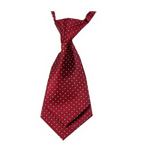Unique Baby Tie Adjustable Neck Tie Party Wedding Show Tie Girl Boy Tie Red Dot