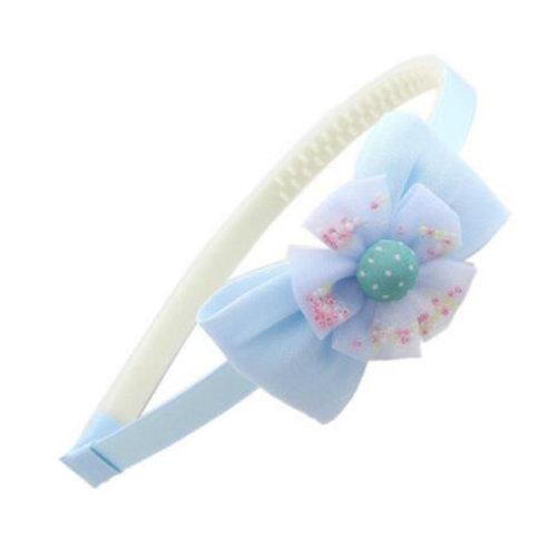 Little Girls Cute Headband with Teeth Hairband Kids Hairdressing Hair Accessories, A