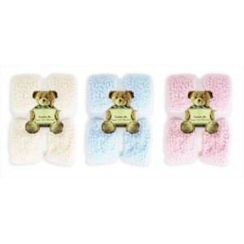 Cuddle Me Super Soft Sherpa texture Blanket 100x150cm - PINK