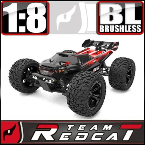 Redcat Racing TR-MT8E-BE6S TR-MT8E BE6S 1 - 8 Scale Monster Truck Brushless Electric Waterproof