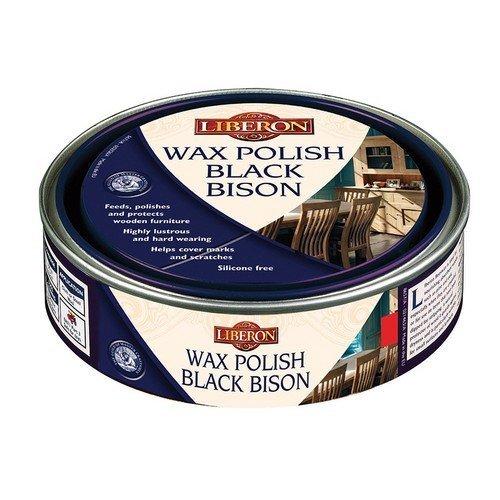 Liberon 070747 Wax Polish Black Bison Dark Oak 150ml