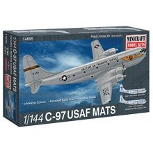 Minicraft C-97 USAF MATS Airplane Model Kit (1/144 Scale)