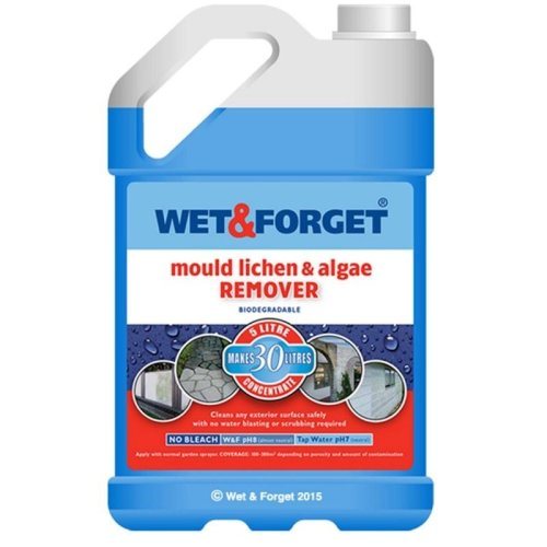 Wet & Forget Mould, Lichen & Algae Remover - 5L
