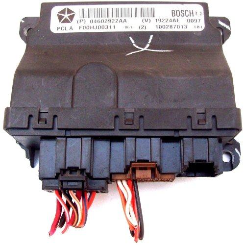 Chrysler Sebring Front Door Bosch Computer ECU Module 04602922AA F00HJ00311