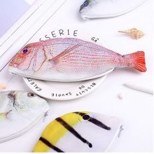 Simulation Sea Fish Pencil Bag