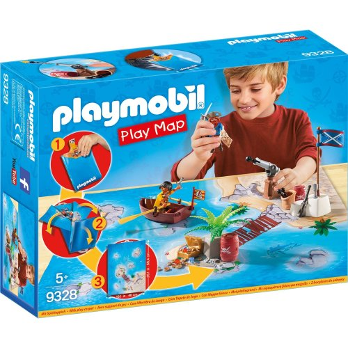 Playmobil 9328 Play Map Pirates On Onbuy
