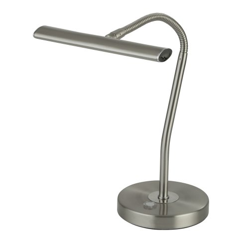 Searchlight Bow LED Table Lamp With Flexi Head SS