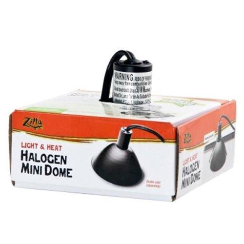 Energy Savers EN15629 Zilla Light & Heat Halogen Mini Dome Terrarium Light Fixture