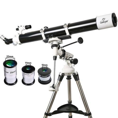 Gskyer Telescope, EQ901000 Astronomy Telescope, German Technology PowerSeeker Telescope