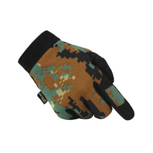 [Digital Camo] Wear-resistant Rock Climbing Hunting Gloves, L