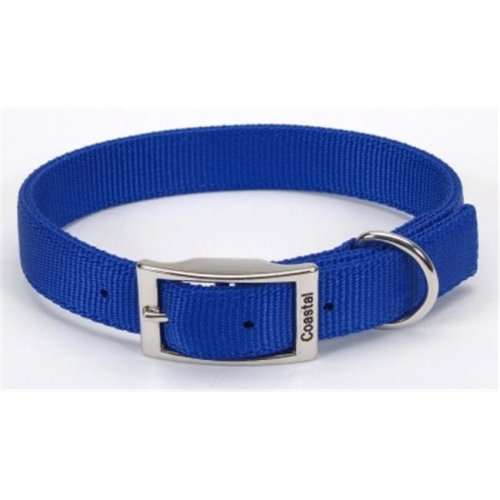 Coastal Pet Products CO06432 24 in. Double Web Collar - Blue