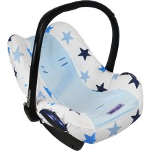 Infant Car Seat Cover 0+ Blue Stars