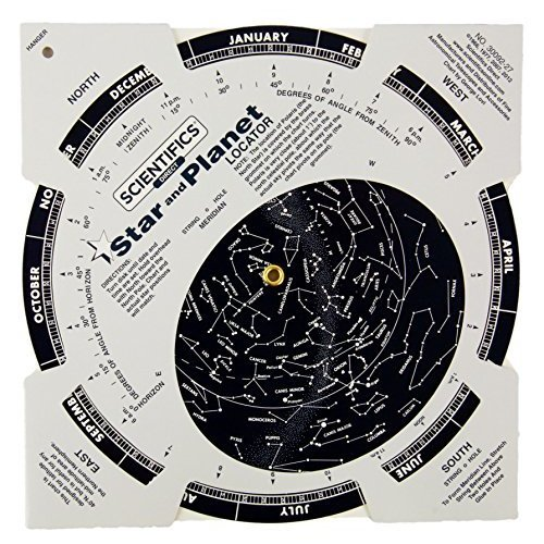 Scientifics Direct Famous Star And Planet Locator with Instructions and Booklet