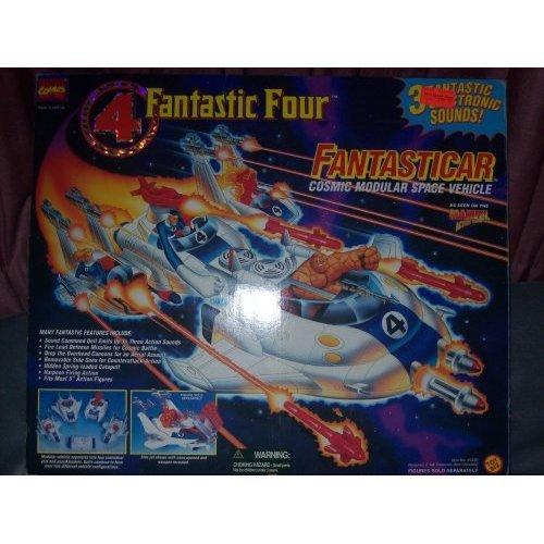 Fantastic Four Fantasticar Cosmic Modular Space Vehicle