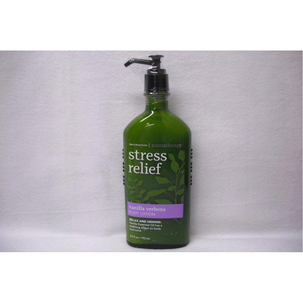 Bath Body Works Aromatherapy Vanilla Verbena Stress Relief Body