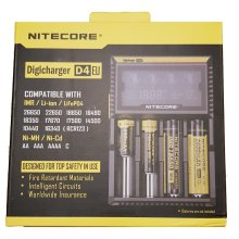 Nitecore D4 - 2018 Model - Intelligent 18650 26650 AA Battery Charger