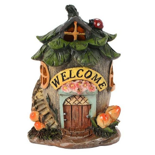 Something Different Small Fairy Welcome House With LED Lights