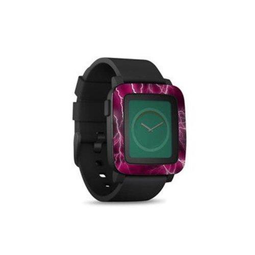 DecalGirl PSWT-APOC-PNK Pebble Time Smart Watch Skin - Apocalypse Pink