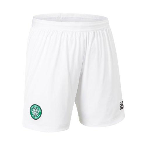 New Balance Celtic FC 2019/20 Mens Home Football Short White